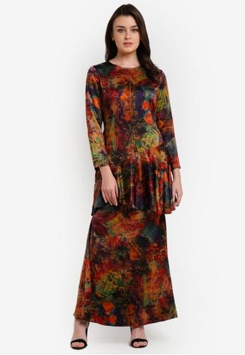 Bianco Mimosa orange Poison Ivy Dress BI854AA0RAGKMY_1
