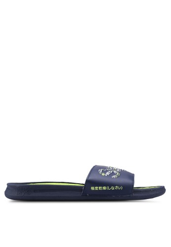 Superdry navy Crewe Repeat Logo Slider 634F3SHE643FCAGS_1