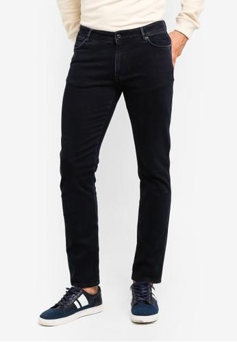 MANGO Man blue Slim-Fit Navy Patrick Jeans 7924DAABC5C9F0GS_1