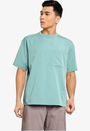 niko and ... green Oversize Pocket Shirt 94846AAB14A326GS_1