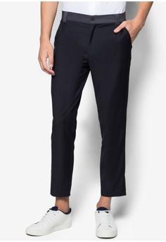 Slim Fit Colourblock Pants