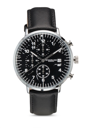 Stuhrling Original black Essex 3911L Watch C8D1CACA013499GS_1