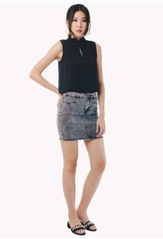 20% OFF Nichii Lace Trim High Neck Blouse RM 69.90 NOW RM 55.90 Sizes S M L  XL 5318a9c73