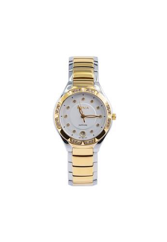 Bonia gold and silver Bonia BP10397-2117S - Jam Tangan Wanita - Silver Gold B6A7CAC0E5D0FEGS_1