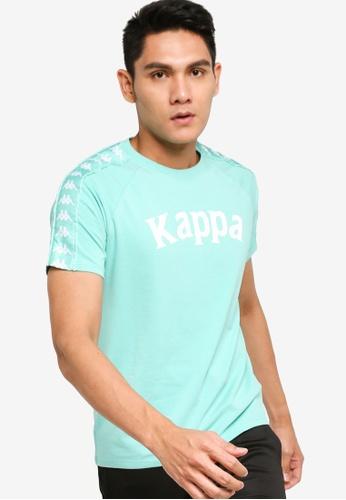 Kappa green Authentic T-Shirt 2C5CDAA50F4202GS_1