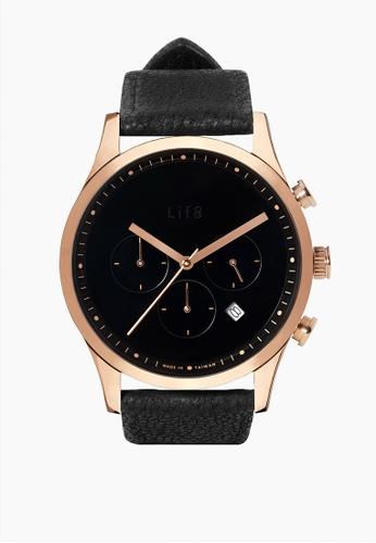 Life8 gold Formal Vintage Fashion Watch-05309-Gold & Black 383C3ACA5F5124GS_1