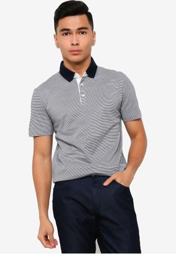 BOSS 藍色 T-Peterson 12 Polo Shirt 5D931AAD5B6148GS_1