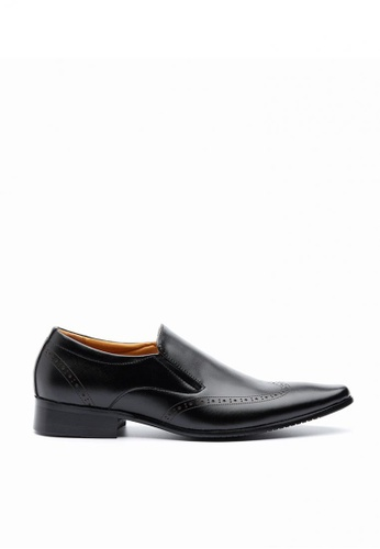 Kings Collection black Durham Loafers 9CF2BSHD10583CGS_1