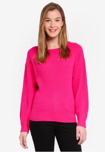 Glamorous pink Knit Jumper 19819AA4426F10GS_1