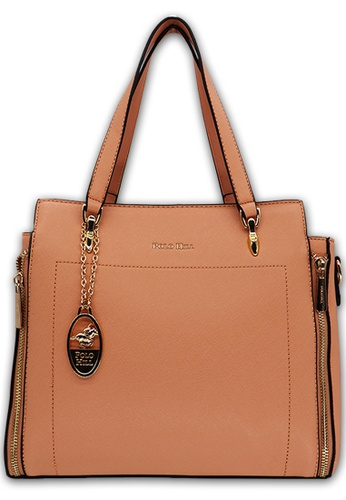 POLO HILL pink POLO HILL Ensign Ladies Tote Bag 688F3AC5F700E7GS_1