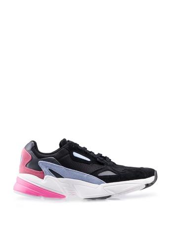 ADIDAS black falcon shoes 09055SHCC3FB73GS_1