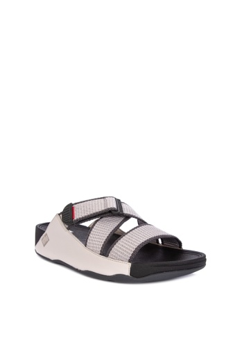 Fitflop grey Sling II Slide Sandals 22899SH0A2F445GS_1