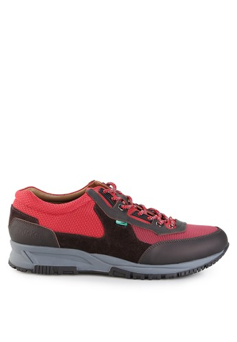 Kickers red and brown Kcm2316 KI071SH0UXD3ID_1
