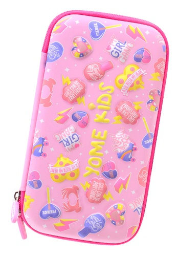 Yome pink YOME Pencil Case Party 74C10KCE944F64GS_1