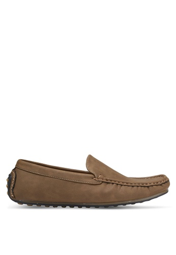 Louis Cuppers brown Casual Loafers LO977SH0RJGMMY_1