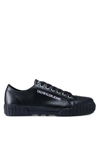 Calvin Klein black Burton Sneakers CB048SH721F108GS_1