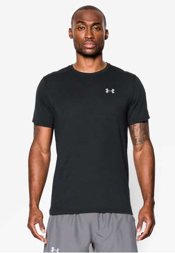 Under Armour black Threadborne Streaker T-Shirt UN337AA0SU02MY_1