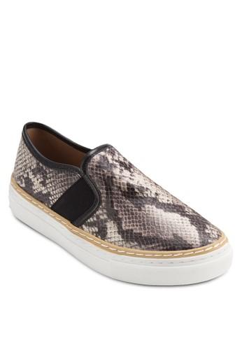 蛇紋厚底懶人zalora 包包 ptt鞋, 女鞋, 鞋