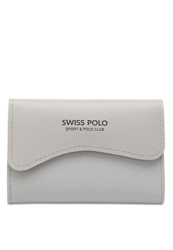 Swiss Polo grey Casual Card Holder B4C2FACFED2FA0GS_1