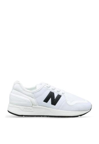 New Balance 灰色 247 Lifestyle Shoes 0BDD9KS1A48187GS_1