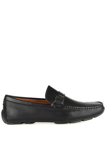 Tomaz black Tomaz C435 Buckle Moccasins (Black) 38DB5SH00B863EGS_1