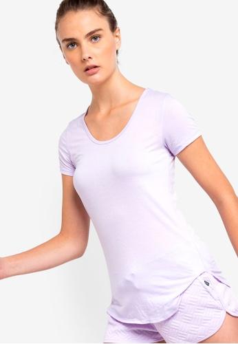 Cotton On Body purple Gym T-Shirt A647CAA9CAAD99GS_1