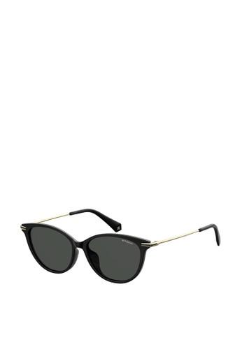 Polaroid black Cat Eye 4085/F/S Sunglasses 9E486GL0AF1BFEGS_1