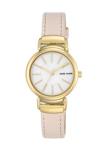 Anne Klein pink and gold Anne Klein Ladies - Diamond Accented Watch Set - AK-2752MPLP AN844AC0RH89MY_1