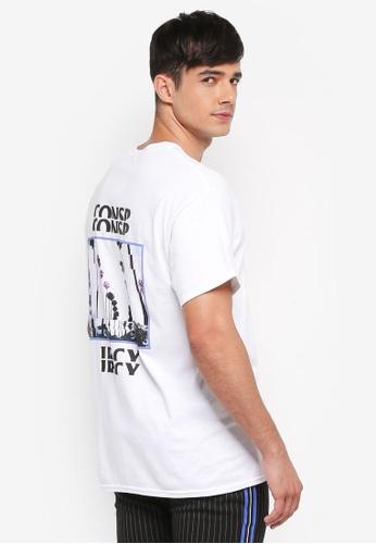 Topman white White Conspiracy T-Shirt B86B0AA7E1CB2FGS_1
