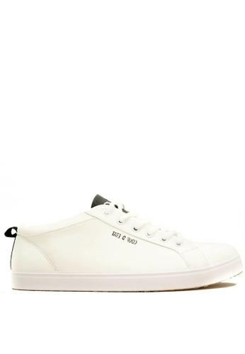 CDE white CDE Percival Women Sneaker White-Black CD965SH92EBZID_1