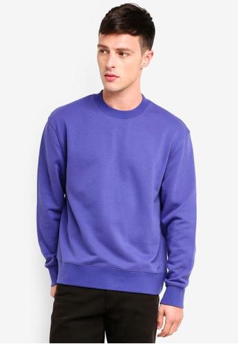 Topman 紫色 經典棉T 2B4B4AAF5EB85CGS_1