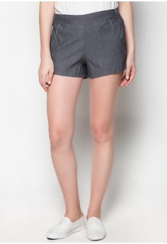 Gray Polkadots Shorts