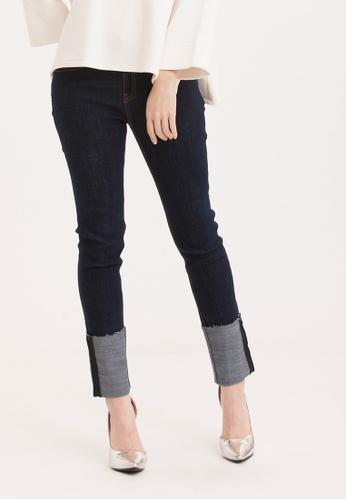 H:CONNECT blue Stylish Skinny Jeans E5FDFAA4130A3FGS_1