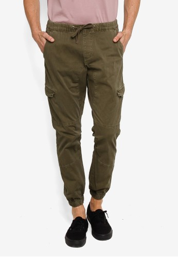 Indicode Jeans green Casual Cargo Pants A2E78AAFF9CA7BGS_1