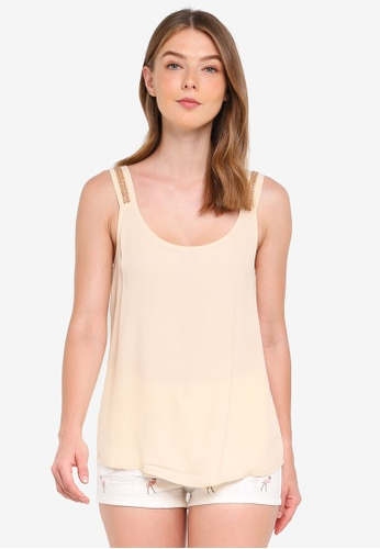 ONLY brown Cannes Sleeveless Top BDAF5AA579A774GS_1