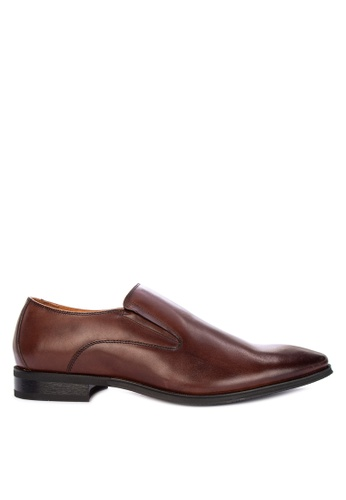 FLORSHEIM brown Scullin Formal Shoes 034E5SH4A13988GS_1