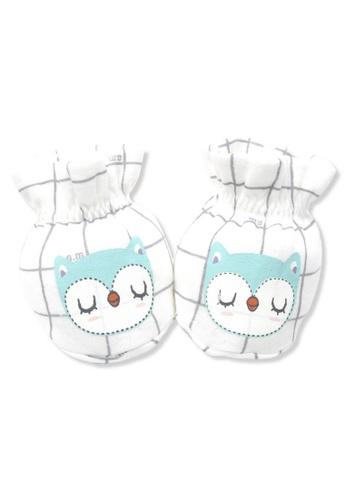 Organic mom beige Goodnight Owl Socks (FALL/WINTER) C635AKAEA7BEE5GS_1