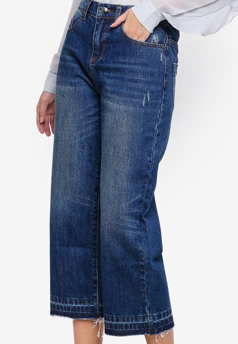 Patti Pants ASH ASH Patti ASH Long Blue Pants Blue Long qCY5w7