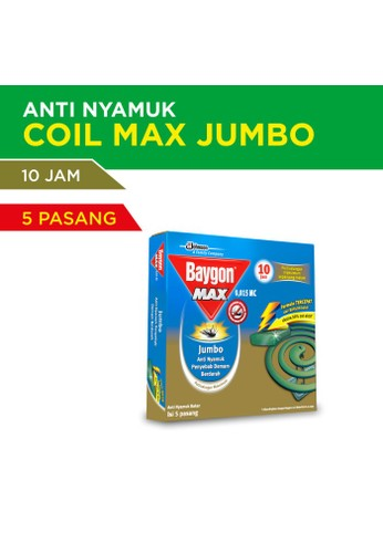 Baygon Baygon Coil Jumbo Max Green 10Hr 150g 02806ESF34AF64GS_1