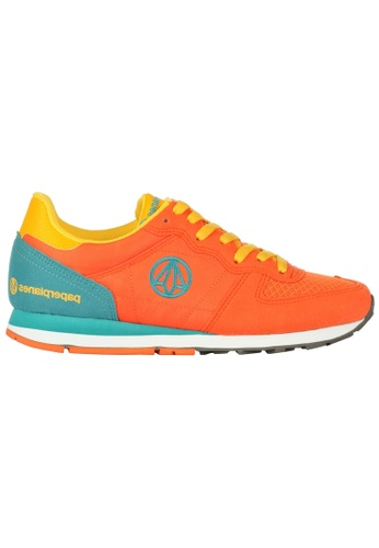 paperplanes orange Paperplanes-1142-1 Fashion Colorful Low Top Training  Sneakers Shoes US Women