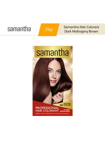 Samantha Samantha Hair Colorant Dark Mahogany Brown Box 25gr D8259ES00E5BDBGS_1