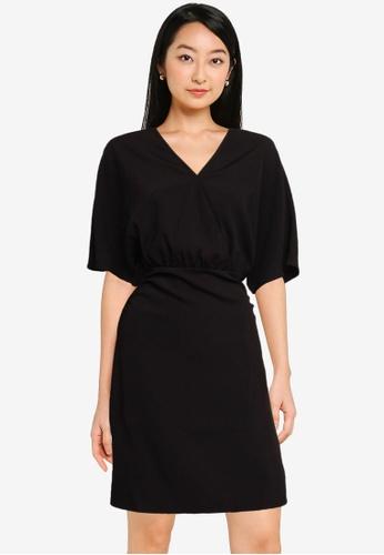 URBAN REVIVO black Casual Dress 8D646AAF85071BGS_1