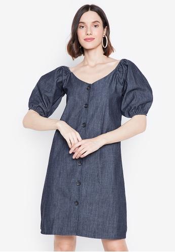 Chictees blue Danielle Dress 3A492AA6E04543GS_1