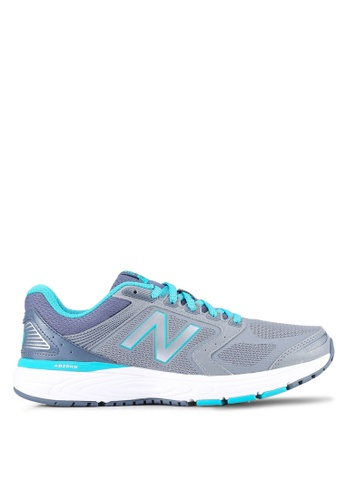 New Balance silver 560 Cushioning Fitness Running Shoes NE323SH0S6VUMY_1