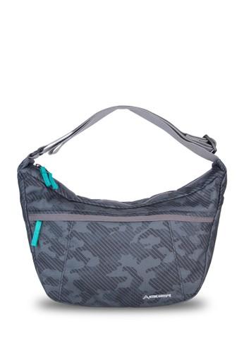 Eiger black Conceal 2.0 Camo Shoulder Bag 10L - Black AED01AC679177EGS_1