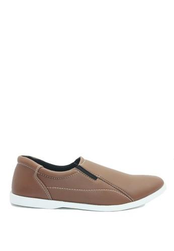 Dr. Kevin brown Dr. Kevin Men Casual Shoes Slip On 13140 - Tan DR982SH0U9J3ID_1