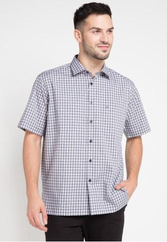 Guy Laroche grey Short Sleeves GU709AA0VUSKID_1