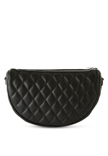 PIMKIE black Quilted Crossbody Bags 2E9E3AC8EBFBE2GS_1