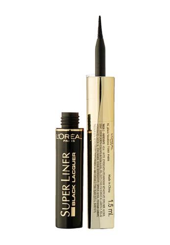 L'Oréal Paris black L'Oreal Paris Super Liner Black Lacquer B7BECBE48B5881GS_1