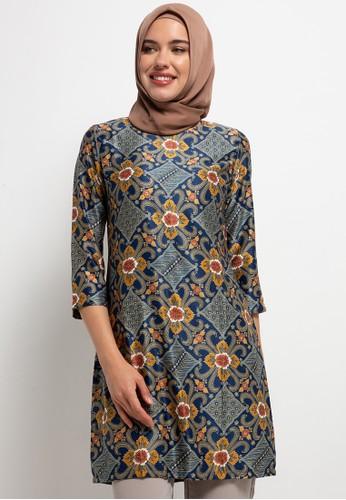 ARJUNA WEDA multi Tunik Batik Kembang Almond 7B036AAF5A3646GS_1